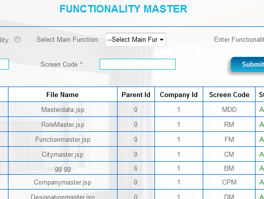 Functionality Master